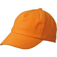 MYRTLE BEACH Gyerek 5P siltes sapka MB7010 - Oranžová