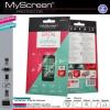 MyScreenProtector Alcatel One Touch Idol S OT-6034 MYSCREEN kijelzővédő fólia (2 db)