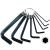 N1 imbuszkulcs klt.; 8db, (H2-2,5-3-4-5-6-8-10 mm)