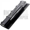 N46V Series 4400 mAh 6 cella fekete notebook/laptop akku/akkumulátor utángyártott