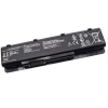 N75SF Series 4400 mAh 6 cella fekete notebook/laptop akku/akkumulátor utángyártott