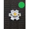 N/A 3W power LED Zöld 160 lumen hűtőcsillagon