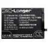 N/A Huawei Mate 10 Lite 3300 mAh LI-Polymer utángyártott akkumulátor (HB356687ECW kompatibilis)