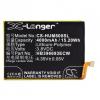 N/A Huawei Mate 8 4000 mAh LI-Polymer utángyártott akkumulátor (HB396693ECW kompatibilis)