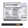 N/A Samsung Galaxy Core Plus 1800 mAh LI-ION utángyártott akkumulátor (EB-B185 kompatibilis)