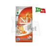 N&D Dog Grain Free tõkehal&narancs sütõtökkel adult medium/maxi 12kg