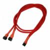 Nanoxia 3-Pin Y-adapterkábel 60 cm