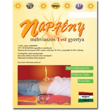 Nap-Fény Nap-Fény testgyertya citromfű (10 db) test- és fülgyertya