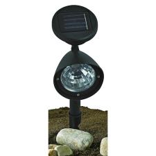 Napelemes kerti LED lámpa Merak, 140 mm, 3 Led világítás