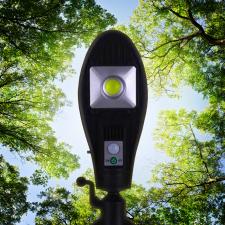 Napelemes LED lámpa 100 W, JX-256 világítás