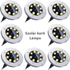 Napelemes LED lámpa, földbe szúrható, talaj lámpa kültéri kültéri világítás