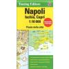 Nápoly (Ischia, Capri) térkép - TCI