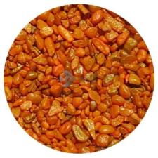 Narancssárga akvárium aljzatkavics (0.5-1 mm) 5 kg akvárium dekoráció