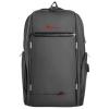 Natec GENESIS notebook backpack PALLAD 400 + USB; Black 15;6''