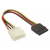 Natec Serial ATA 15 cm power cable, blister