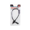 Natec USB 2.0 mikro USB kábel AM-MBM5P 0.3M  fekete  bliszter
