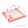 Nattou plüss játszószőnyeg Lapidou - rózsaszín