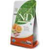 Natural & Delicious; Farmina N&d Adult Cat Fish&orange Grain Free 300g