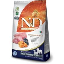 Natural & Delicious; Farmina N&D Dog Grain Free bárány&áfonya sütőtökkel adult medium/maxi 12kg kutyaeledel