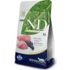 Natural & Delicious; Farmina N&D Grain Free Cat Lamb & Blueberry 10kg