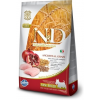 Natural & Delicious; Farmina N&D Low Grain Csirke+Gránátalma Kistestű Kutya 7kg