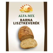 Naturbit Alfa-mix Barna Lisztkeverék 500 g alapvető élelmiszer