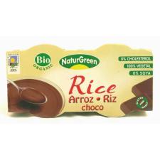 Naturgreen Bio csokoládés rizsdesszert 2x125g biokészítmény