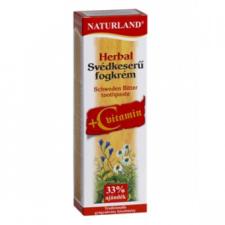 Naturland Herbal Svédkeserű + C-vitamin fogkrém vitamin és táplálékkiegészítő