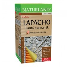 Naturland Lapacho frissítő teakeverék 40 g gyógytea