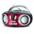 NAVON NPB200 BT piros Boombox (NAVANPB200BBRD)