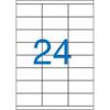 Nebuló Etikett, univerzális, 70x36 mm, VICTORIA, 2400 etikett/csomag