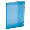 "Nebuló ""Gumis mappa, 30 mm, PP, A4, VIQUEL """"Propyglass"""", kék"""