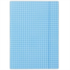 Nebuló Gumis mappa, karton, A4, kockás, DONAU, kék