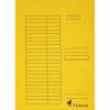 Nebuló Gyorsfűző, karton, A4, VICTORIA, sárga