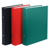 Nebuló Gyűrűs könyv, 2 gyűrű, 30 mm, A5, PP/karton, DONAU, piros