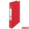 "Nebuló ""Gyűrűs könyv, 4 gyűrű, 42 mm, A4, PP, ESSELTE """"Standard"""", Vivida piros"""