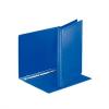 Nebuló Gyűrűs könyv, panorámás, 4 gyűrű, 25 mm, A4, PP, ESSELTE, kék