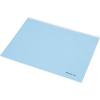 Nebuló Irattartó tasak, A5, PP, cipzáras, talpas, PANTA PLAST,  kék