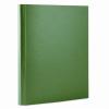 Nebuló Tépőzáras mappa, 35 mm, PP/karton, merevített, A4, DONAU, zöld