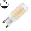 Nedes LED lámpa G9 (4W/320°) Rúd - meleg fehér, dimmelhető