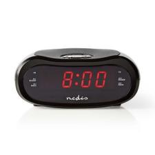"""Nedis Digitális Rádiós Ébresztőóra 0,6"""" LED FM 20 Előbeállítás Szundi ébresztőóra"""