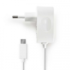 Nedis Nedis Fali töltő | 3,0 A | Fix kábel | USB-C™ | Fehér kábel és adapter