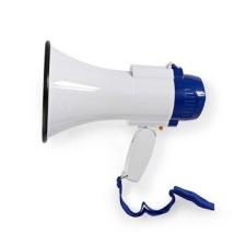 Nedis Nedis Megafon | 10 W | 250 m-es Hatótávolság | Beépített Mikrofon | Fehér / Kék mikrofon