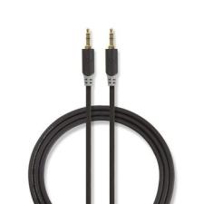 Nedis Nedis Sztereó audiokábel | 3,5 mm-es Dugasz - 3,5 mm-es Dugasz | 5,0 m | Antracit audió/videó kellék, kábel és adapter