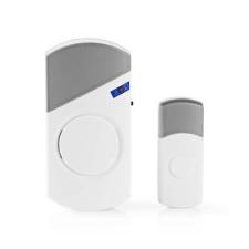 Nedis Nedis Vezeték nélküli ajtócsengő-készlet | Hálózatról Működtethető | 36 dallam csengő