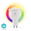 Nedis WiFi Intelligens LED Izzó Teljes Szín és Meleg Fehér GU10