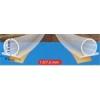 """NEMMEGADOTT tömítőprofil öntapadós szilikon """"D"""" 6 m transzp. (1.5-7.5 mm) (GEKO)"""