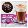 NescafÉ Nescafé Dolce Gusto Chococino Caramel csokoládé-karamell ízű teljes tejpor cukorral 2 x 8 db 204,8 g