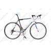 Neuzer Whirlwind 1.0 '14 országúti kerékpár 16seb. Shimano Claris váltó, fehér/fekete/kék, 58cm