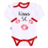 NEW BABY | Áruk | Body nyomtatott mintával New Baby ajkak | Fehér | 80 (9-12 h)